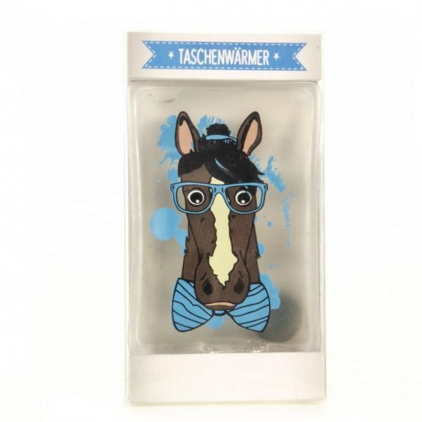 Taschenwärmer Handwärmer mit Pferdemotiv