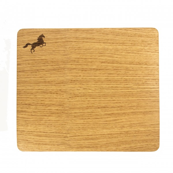 Mousepad mit Echtholz-Eichefurnier