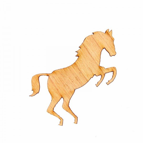 Sticker Pferd Holz