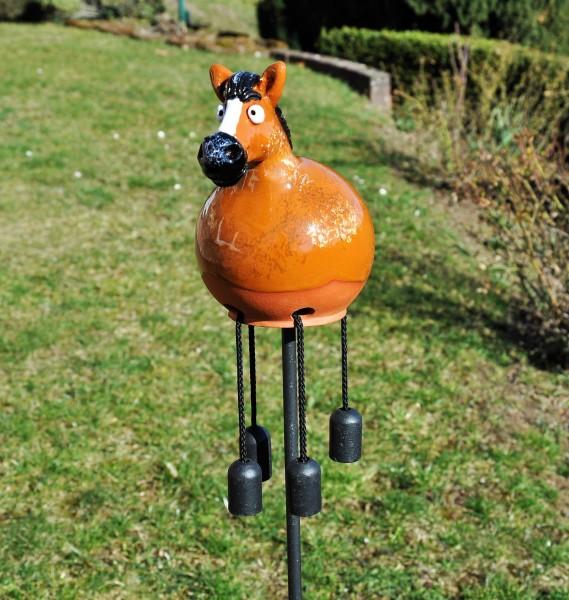 Gartenkugel Pferd