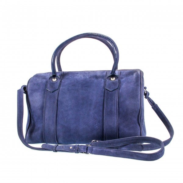 Gallucha Tasche groß Nubukleder königsblau