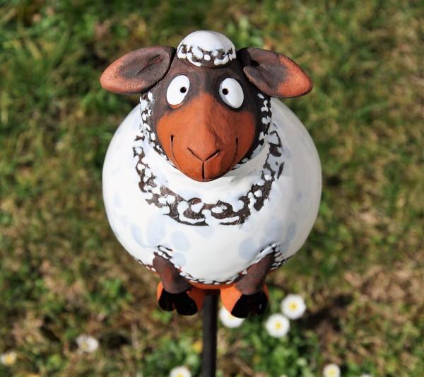 Gartenkugel Schaf