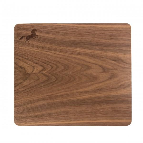 Mousepad mit Echtholz-Nussbaumfurnier