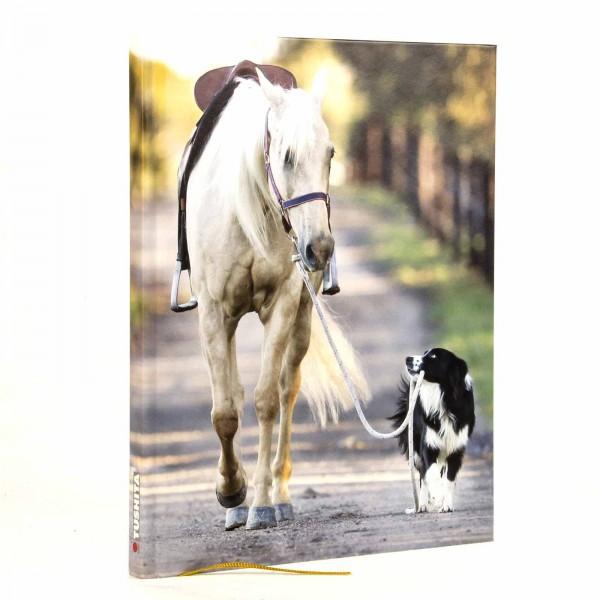 Notizbuch Pferd you will never walk alone
