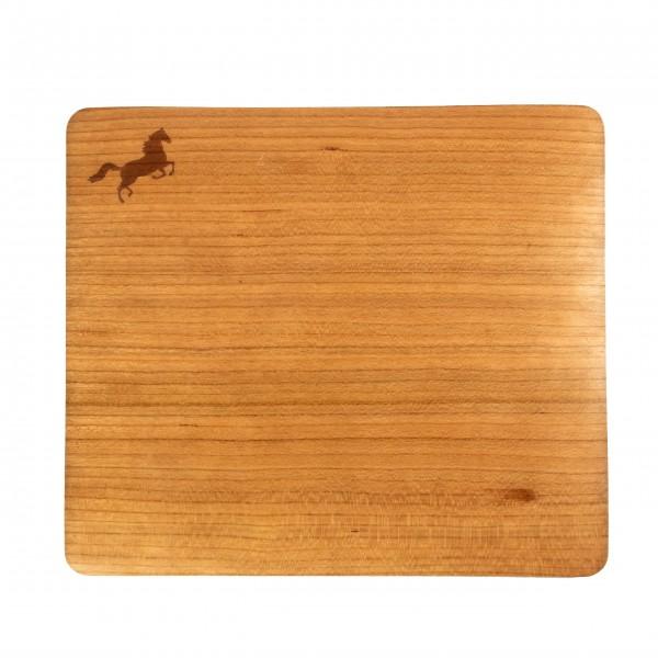 Mousepad mit Echtholz-Kirschbaumfurnier