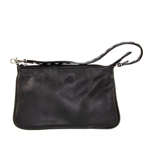Gallucha Tasche klein Leder schwarz